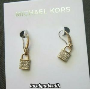 🔒Michael Kors Padlock Earrings🔒